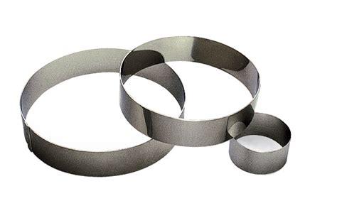 ustensile cuisine cercles mousse inox sans fond hauteur 4 5 cm ustensile