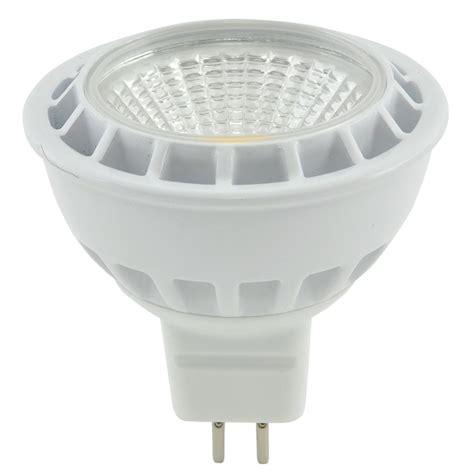 mr16 cob led downlight bulb 5w warm white connevans