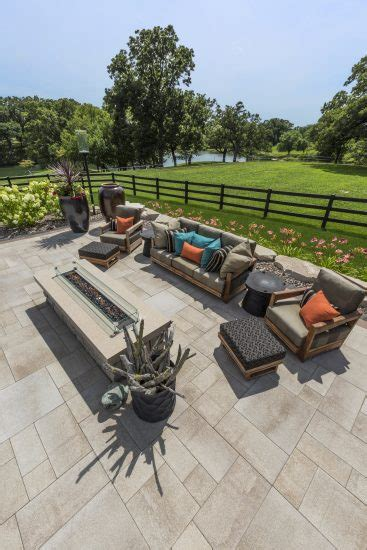 Unilock Transition Pavers by Beautiful Outdoor Patio Built With Umbriano Pavers Photos