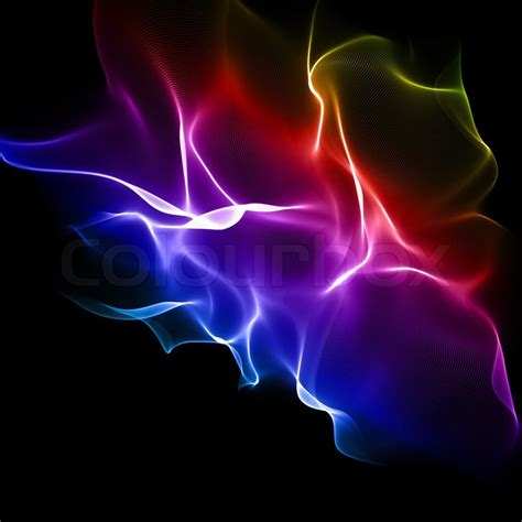 Abstract Green Energy Wallpaper by Abstract Multicolored Background Stock Photo Colourbox