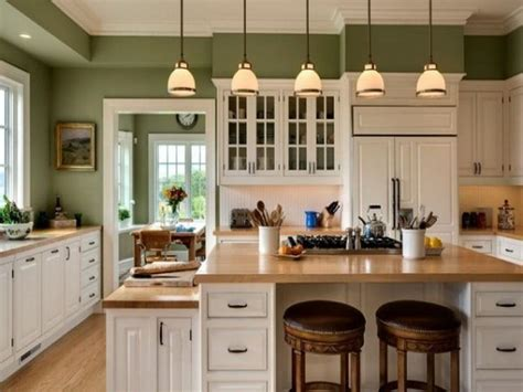 bloombety kitchen island with the best neutral paint