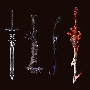 Sword designs by Wen-M by qylin on DeviantArt