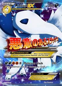 Mega Absol EX Custom Pokemon Card by KryptixDesigns on ...