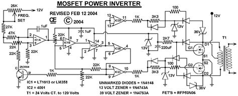 mosfet power inverter   rfpn inverter circuit  products