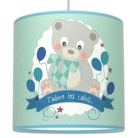 suspension ourson luminaire chambre bébé