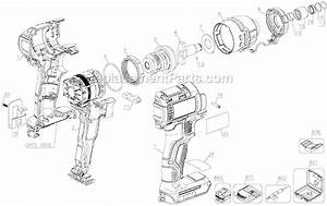 Dewalt Dcf886b Parts List And Diagram   Ereplacementparts Com