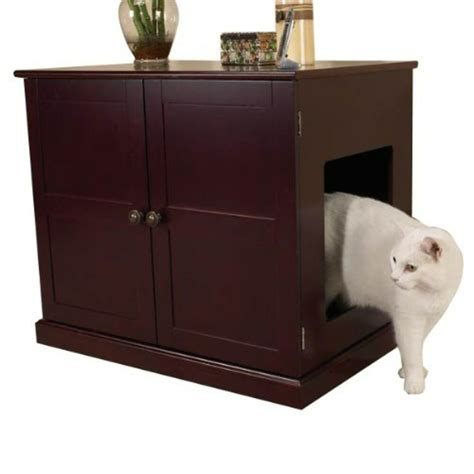 Cabinet Litter Box by Cat Washroom House Furniture Box Pet Litter Cabinet