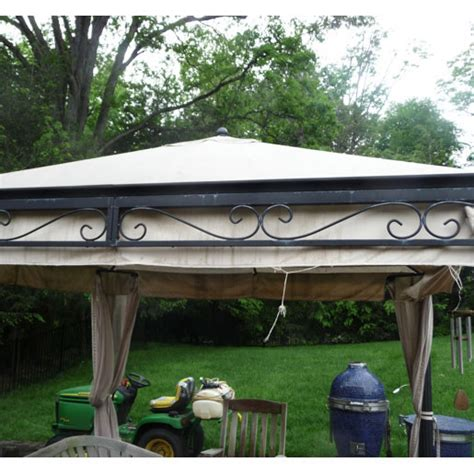 costco emperor gazebo replacement canopy uni   garden winds