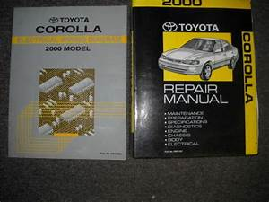 1992 Toyota Corolla Service Repair Shop Set Oem Ervice And The Electrical Wiring Diagrams The Service Covers The Enginespecificationsc