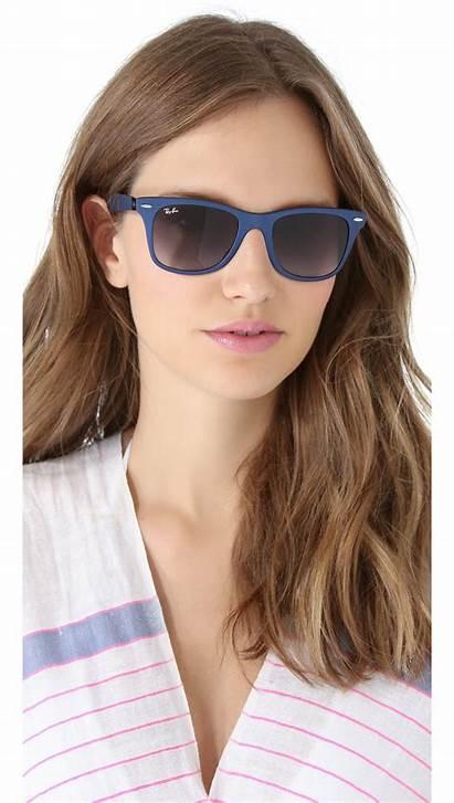 Ban Ray Sunglasses Wayfarer Matte Gradient Force