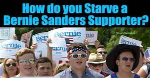 Meme Reveals How To Starve A Bernie Sanders Supporter