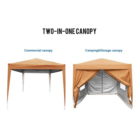 quictent privacy  ft screen ez pop  party tent canopy gazebo sally brown ebay