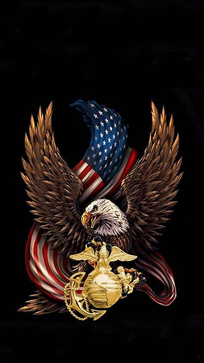 Usmc Iphone Wallpapers Marines Eagle Flag Backgrounds