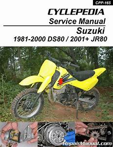 Suzuki Ds80 Jr80 Motorcycle Cyclepedia Printed Service Manual