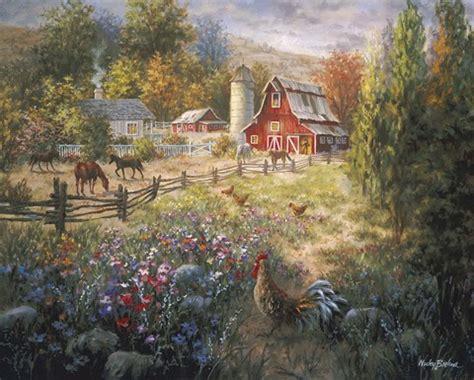 grazing  fertile farmland fine art print  nicky