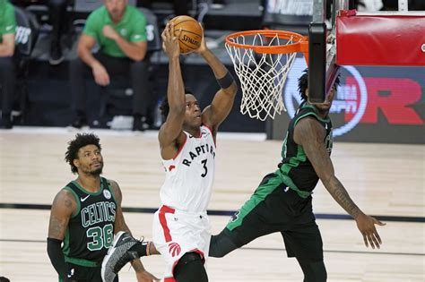 Boston Celtics transition defense slows Toronto Raptors ...
