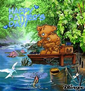 Happy Fathers Day ~ Gone fishing with dad Picture ...