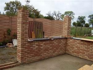 Terrasse Avec Muret : muret de la terrasse maison d 39 eric et de christine ~ Premium-room.com Idées de Décoration