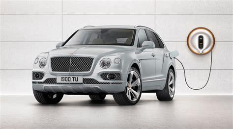 Bentley Bentayga Hybrid First Of Its Kind
