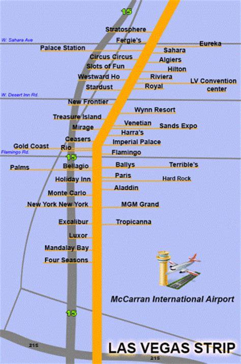 the lv map las vegas mappery