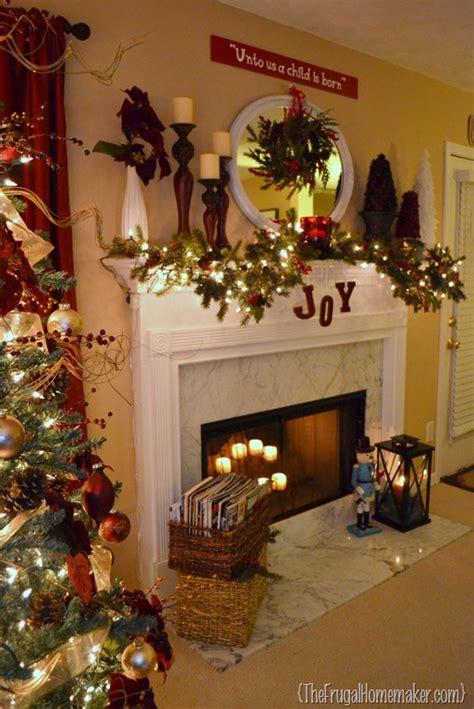 christmas mantel   christmas craft