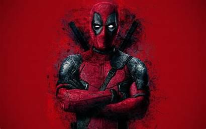 Deadpool 4k Superhero Grunge Portrait Background Creative