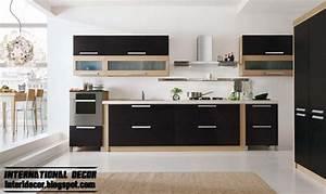 modern black kitchen designs ideas furniture cabinets With modern kitchen design ideas 2014