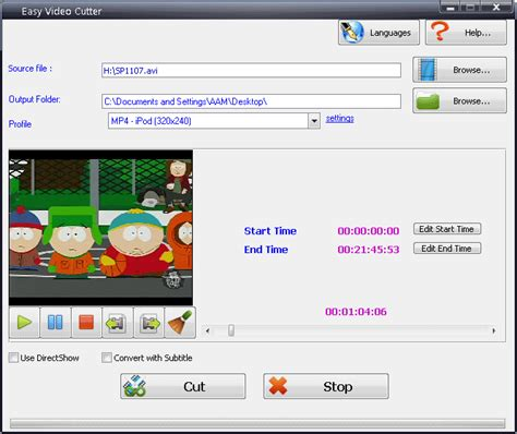 Easy Video Cutter  Free Download