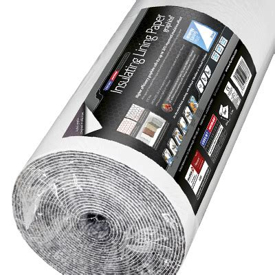 insulating lining paper graphite