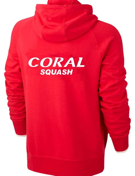 coral womens full zip hoodie  colours iprosports