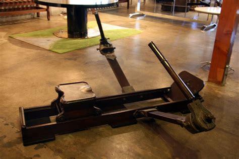 Italian Wood Rowing Machine For Sale At 1stdibs