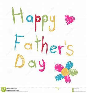 Happy Father's Day Card Stock Photography - Image: 24847142