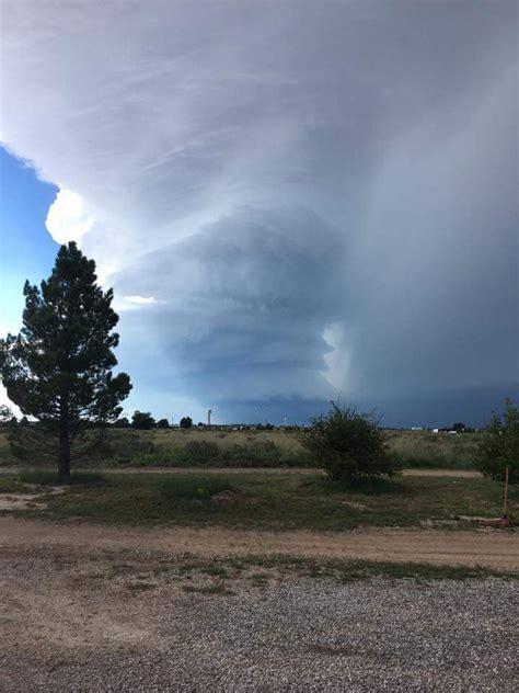 amazing supercell  baseball large hail engulf artesia
