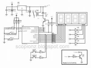 Programmable Digital Seven Segment Timer Circuit