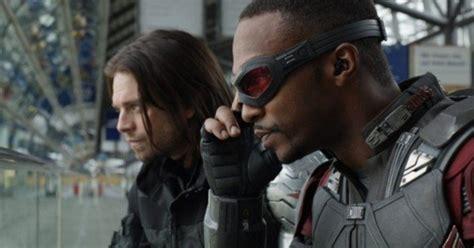 Avengers Infinity War Anthony Mackie Sebastian Stan