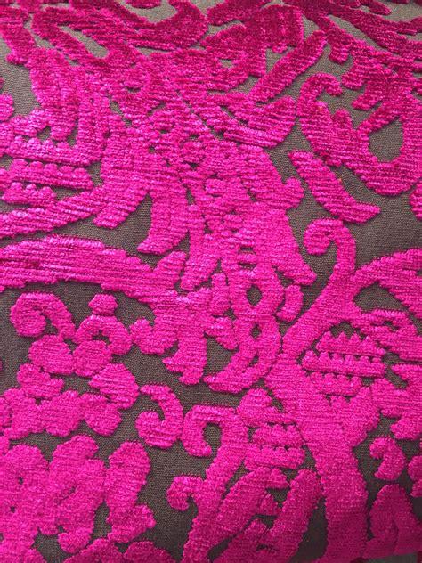 tissus velours cisele citeaux mural