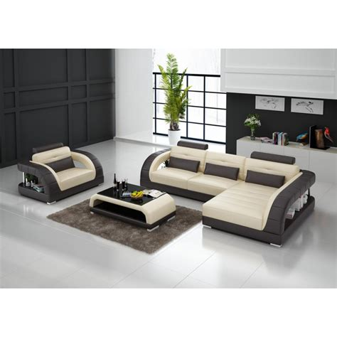 canapé d angle 200x200 canapé d 39 angle en cuir pleine fleur enzo fauteuil pop