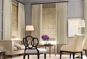 Amazing living room window treatment ideas design living for Window blinds and curtains ideas