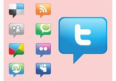 Social Icons Vectors Graphics