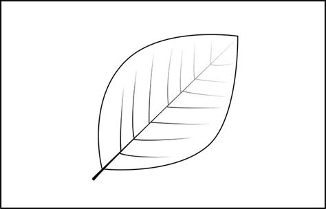 leaf cut out template leaf template printable leaf templates free premium templates
