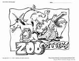 Zoo Coloring Pages Animal Animals Printable Critters Pdf Snapshot Woody Craft Related Posts sketch template