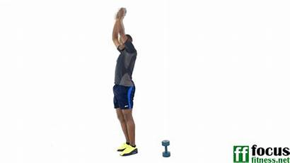 Dumbbell Pike Crunches Standing Workout Side Alternating