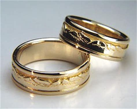 custom wedding rings  wedding bands  platinum kt