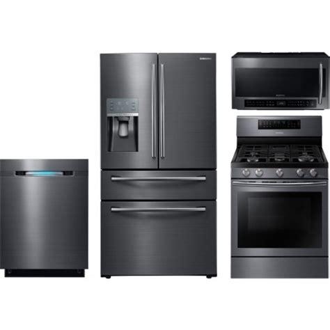 samsung kitchen appliance bundle samsung 4 kitchen package with nx58j7750sg gas range
