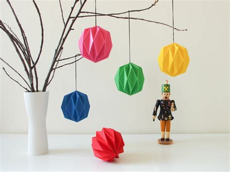 comment faire une decoration de noel en papier 1001 id 233 es originales comment faire des origami facile