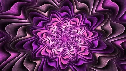 Purple Fractal 4k Desktop Flower Wallpapers Abstract
