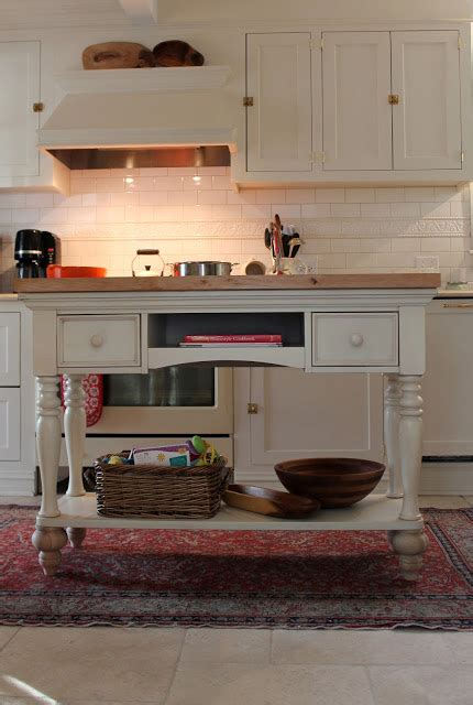 kitchen islands that look like furniture december before and after from thrifty decor