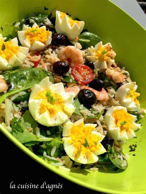 riz cuisine salade de riz au thon la cuisine d 39 agnèsla cuisine d 39 agnès
