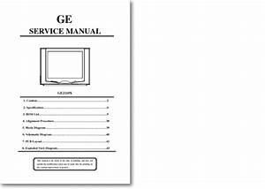 Diagrama  Manual General Electric Ge 2110