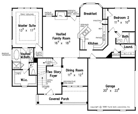 brookhaven house floor plan frank betz associates